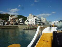 最後は渡船で尾道に上陸です。 70円。 渡船のおじさんとのおしゃべりも楽しかった。