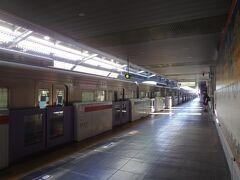 吉祥寺駅 15分遅れで到着