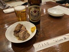 仙台到着、少し遅くなったけど、まずは寝る前に牛たん