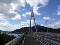 これ以降の橋は全て自動車と自転車が並走する構造になっています。