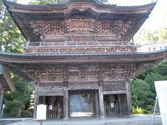 さて旅最後の目的地、善寶寺です。鶴岡ICより車で15分。