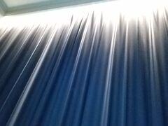 おはようございます! いきなりお部屋のカーテンですみません(^_^;)  この隙間の電気の消しかたがわからなくて、夜中に目が覚め・・・の繰り返し(ーдー)