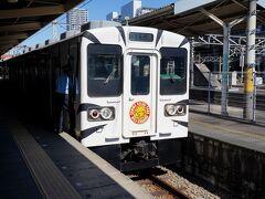 地元の駅から、高崎線の普通列車に乗り、終点の高崎駅で下車。ここから、10時53分発の上信電鉄下仁田行に乗り換え、貫前神社の最寄り駅である上州一ノ宮駅を目指す。