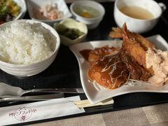 急いで色々見てたら気になったので、神戸ブランド亭さんで遅めのランチをとりました。  ゆったりとした空間で美味しい洋食たべて元気もりもりです!
