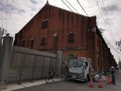 被爆建物の一つである旧広島陸軍被服支廠です。