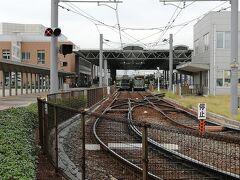 広島電鉄の終点でもあります。