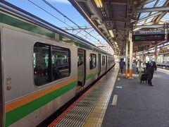 ◆旅行本編 ▽10月24日(日) 1日目 旅の出発は東海道線・大船駅。