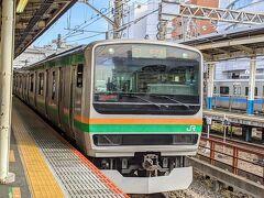 話題を元に戻します―。藤沢に戻り、東海道線で湯河原を目指します。