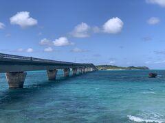 池間大橋から池間島を見たところ