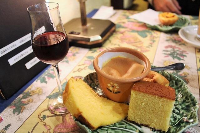 カステラ ド パウロのポルトガル菓子