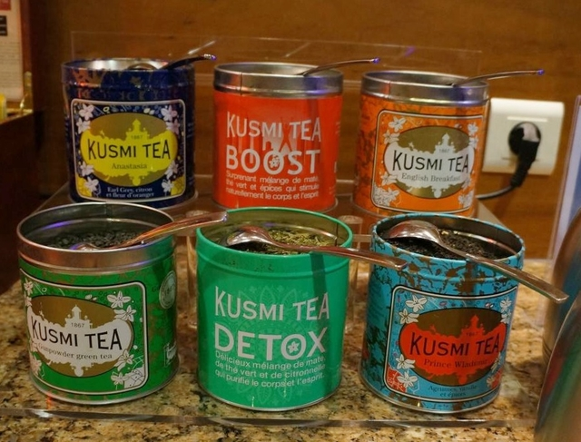 「クスミティー」の紅茶