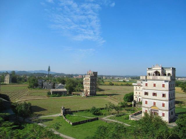 開平の望楼群と村落