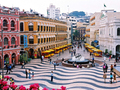 世界遺産マカオポルトガル旅情ツアー<1日/カジノ選択+滞在延長可/ランチ+エッグタルト付き>