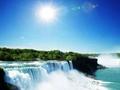 飛行機で往復! ナイアガラの滝 観光ツアー<1日/日本語ガイド/展望レストラン・バイキング付>
