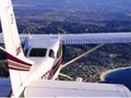 豪華小型飛行機で行く! ロサンゼルス南海岸 遊覧飛行ツアー<午前/午後/夜/ミニ・リムジン送迎付き>