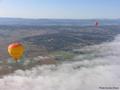 ラミントン国立公園を空から満喫!熱気球ツアー<ワイナリー朝食&ワインテイスティング> byホットエアー
