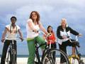 自転車で行く!バルセロナ半日サイクリングツアー<午前>