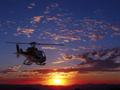 ヘリコプター遊覧飛行 ラスベガス市内〜フーバーダム〜コロラド川 夕日&夜景鑑賞ツアー<ホテル送迎付>