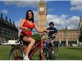 自転車に乗ってひと回り♪ロンドン市内観光バイクツアー<ロンドン発>