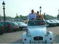 シトロエン2CVを貸切チャーター!パリ市内 盛りだくさん観光<3時間>
