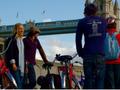 テムズ河沿いをサイクリング!ロンドン市内自転車ツアー&クルーズ<ロンドン発>