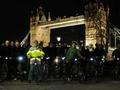 自転車で夜のロンドンに繰り出そう!市内観光ナイトツアー<ロンドン発>