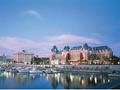 [日帰りプラン] ビクトリアとブッチャートガーデン1日観光ツアー<憧れのフェアモントエンプレスホテルでの昼食付/バンクーバー発>