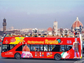 """乗り降り自由!フィレンツェ""""Hop-on Hop-off""""観光バスチケット<1日パス・48時間パス/日本語音声ガイド/フィレンツェ発>"""
