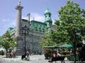 モントリオール市内徒歩観光ツアー<午前・午後/モントリオール発>