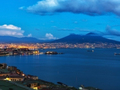 世界三大夜景を見に行こう ナポリのイルミネーションツアー&イタリアン・ディナ<夜/夕食付/ナポリ発>