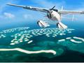 海に浮かぶ世界地図「ザ・ワールド」へ上陸!未来都市ドバイ水上飛行機遊覧+ザ・ワールドツアー<ドバイ発>
