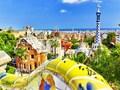 朝にサクッと観光!大人気のガウディ建築 グエル公園見学ツアー<バルセロナ発>