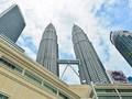 ペトロナスツインタワー展望台チケット 超高層ビルからの眺望!