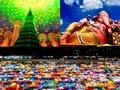 バンコクフォトジェニックツアー☆巨大ピンクのガネーシャ+ワット・パクナム+鉄道市場ナイトマーケット<午後/日本語ガイド/土日限定>