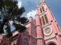 ベンタイン市場立寄りあり! ホーチミン市内観光ツアー☆ピンクの教会も観光!ゆったりなラグジュアリーバスで豪華に♪人気ガイド確約付きプランあり<午前/ホテル送迎/現地ガイド(日本語可)>