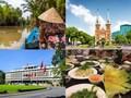 夕食はニャーハンゴンで! メコン川クルーズ+ホーチミン市内観光ツアー<象耳魚の昼食と夕食付/日本語ガイド>