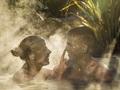 マオリ癒しの湯・泥湯と硫黄温泉